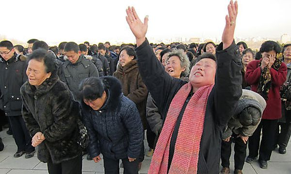 Verordnete Trauer um Kim Jong-il / Bild: (c) AP ()