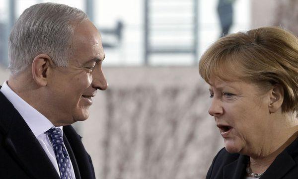 Netanjahu in Berlin / Bild: AP