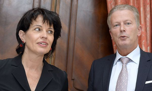 Mitterlehner und Leuthard in Wien / Bild: APA/HANS KLAUS TECHT