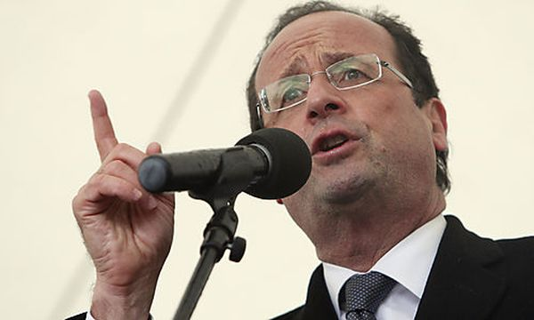 Francois Hollande / Bild: (c) AP (David Vincent)