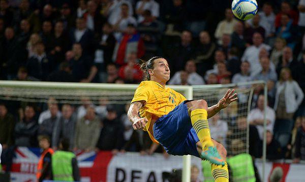 Ibrahimovic zaubert gegen England / Bild: GEPA pictures