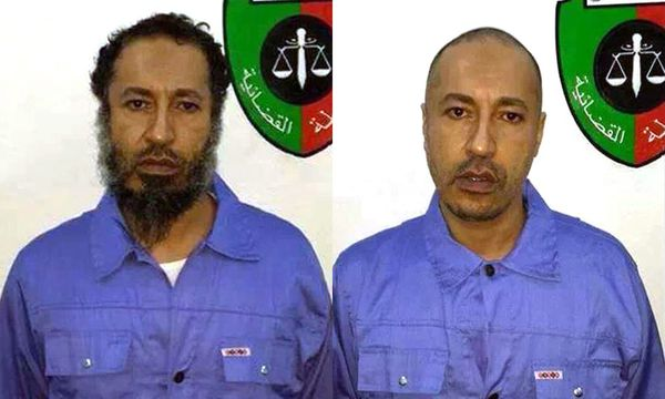 Saadi al-Gaddafi wird an Libyen ausgeliefert / Bild: (c) APA/EPA/LIBYAN PRISON AUTHORITY/ (LIBYAN PRISON AUTHORITY/HANDOUT)
