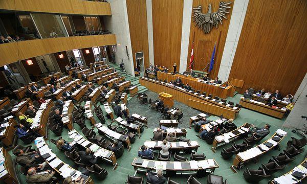 Plenarsaal im Parlament  / Bild: (c) APA/GEORG HOCHMUTH (GEORG HOCHMUTH)