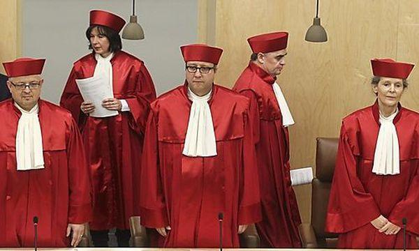 Verfassungsrichter / Bild: (c) REUTERS (Alex Domanski)