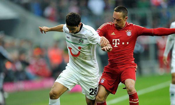 Stindl gegen Ribery / Bild: EPA