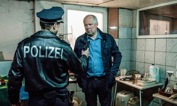 Tatort: Axel Milberg spielt Klaus Borowski, Sibel Kekilli seine Kollegin Sarah Brandt / Bild: (c) ORF (Christine Schröder)