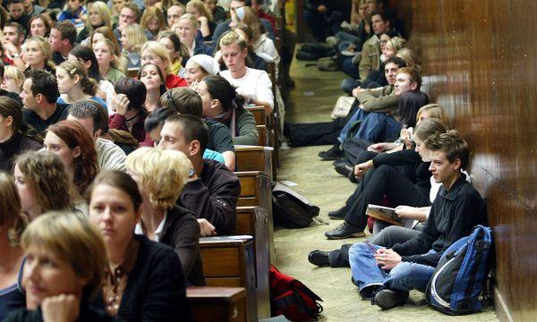 Auslaendische Studenten Belastung / Bild: (c) APA (Roland Schlager)