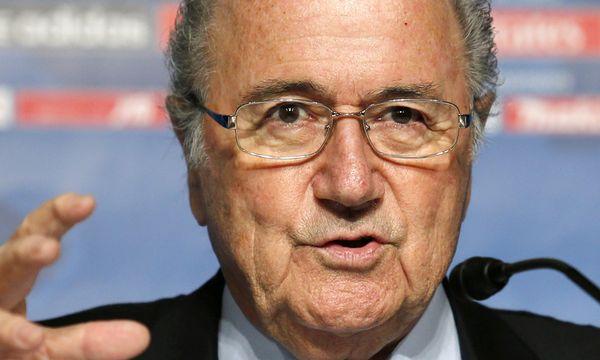 Fifa-Präsident Joseph Blatter / Bild: (c) AP (Shuji Kajiyama)