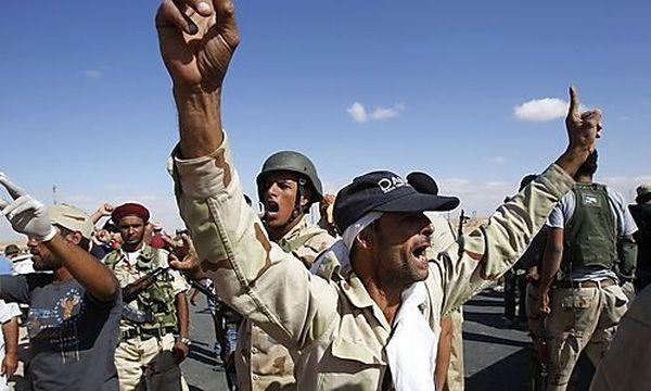Anti-Gaddafi-Kämpfer / Bild: (c) REUTERS (Youssef Boudlal)