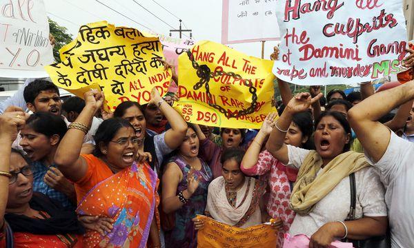 Todesstrafe fuer vier Sexualmoerder / Bild: (c) EPA (HARISH TYAGI)