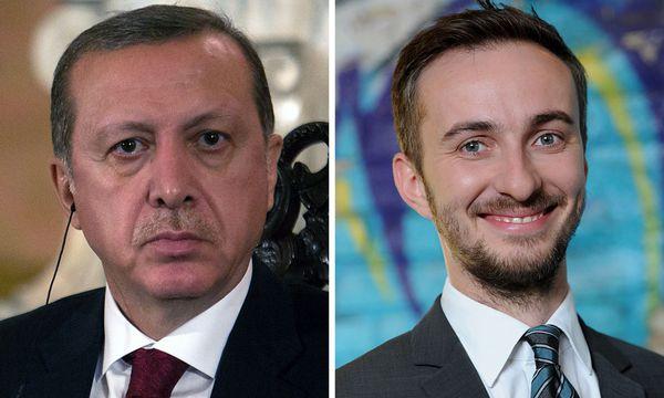 Der türkische Präsident, Recep Tayyip Erdoğan, und ZDF-Satiriker Jan Böhmermann / Bild: (c) APA/AFP/BRITTA PEDERSEN/SEBASTIA