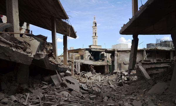 Talbisseh/ Nahe Homs / Bild: (c) AFP (MAHMOUD TAHA)