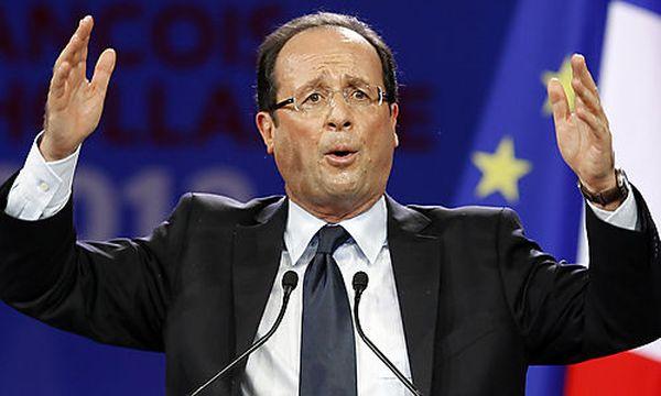 Frankreichs sozialistischer Präsidentschaftskandidat Francois Hollande / Bild: (c) dapd (Christophe Ena)