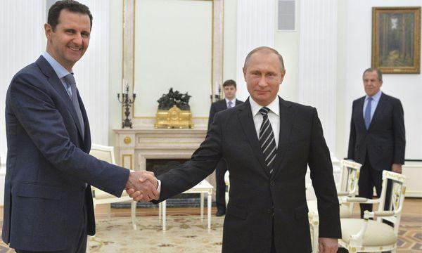 Assad besucht Putin in Moskau. / Bild: (c) Reuters