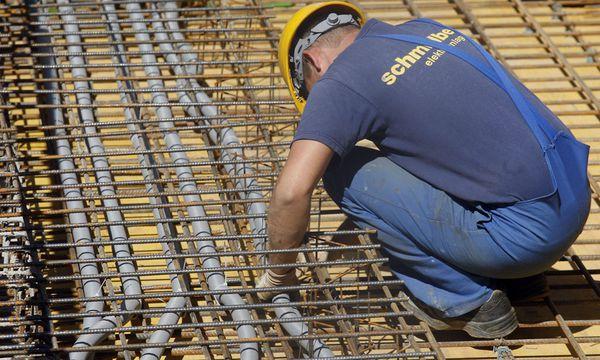 Bauarbeiter / Bild: (c) APA/HERBERT PFARRHOFER (HERBERT PFARRHOFER)