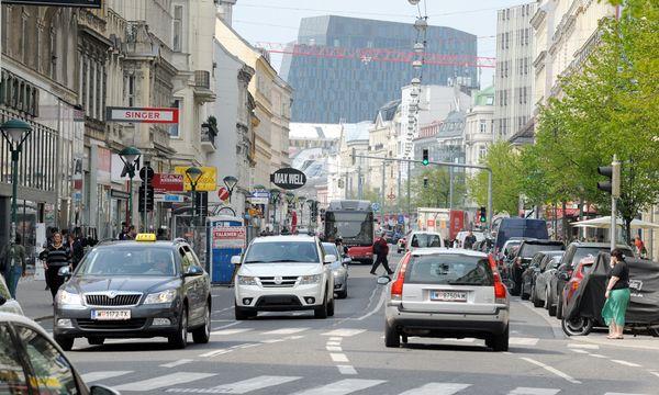 Verkehr in Wien sinkt ständig / Bild: (c) Die Presse (Clemens Fabry)