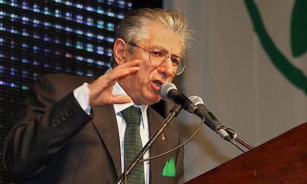 Der zurückgetretene Lega-Nord-Chef Umberto Bossi / Bild: (c) EPA (Paolo Magni)