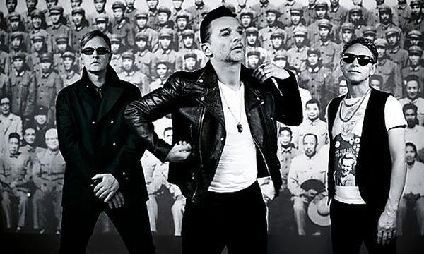 Depeche Mode in front of the masses / Bild: depechemode.com