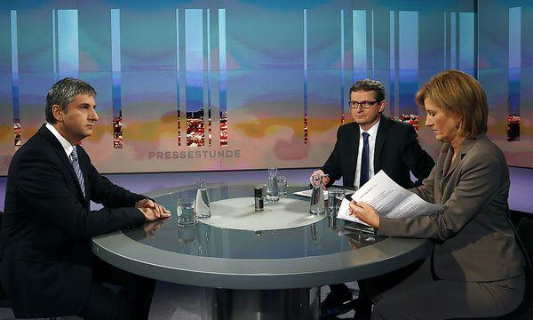 ORF-PRESSESTUNDE / Bild: APA/DRAGAN TATIC