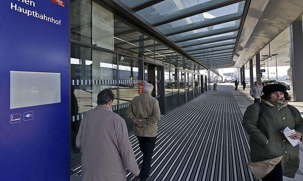 Wien Hauptbahnhof / Bild: APA/HERBERT NEUBAUER