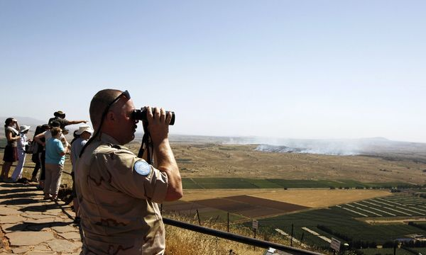 Golan Aussenpolitik / Bild: (c) REUTERS (AMMAR AWAD)