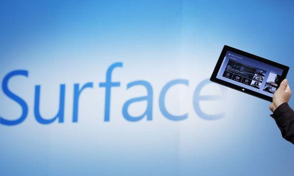 SurfaceTablet brachte Microsoft Dollar / Bild: (c) REUTERS (� Lucas Jackson / Reuters)