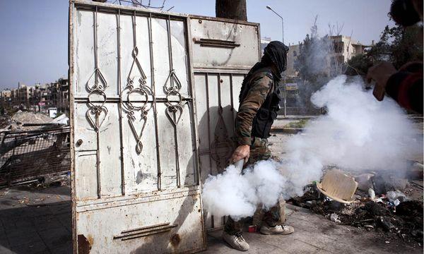 Kämpfe in Syrien / Bild: (c) EPA (MAYSUN)