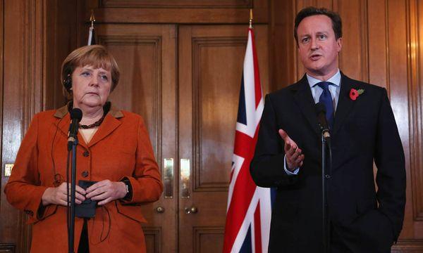 Angela Merkel, David Cameron / Bild: (c) AP (Dan Kitwood)