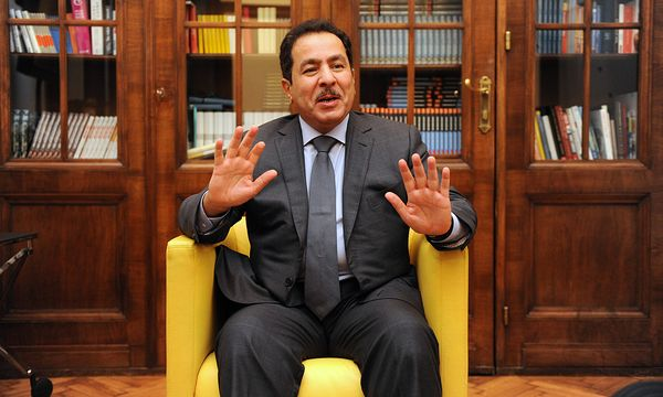 Faisal bin Abdulrahman bin Muaammar / Bild: (c) Die Presse (Clemens Fabry)