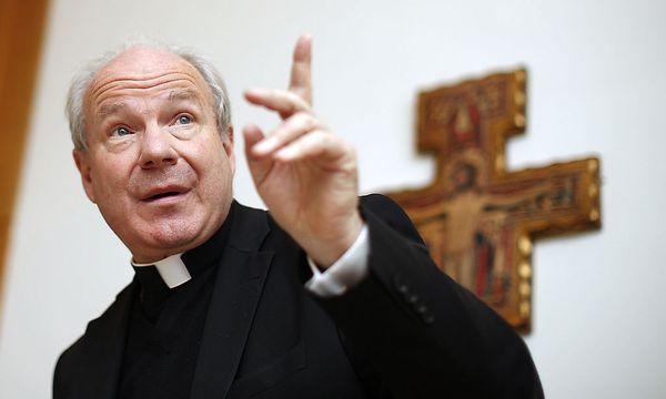 Der Kardinal verteidigt die Linie der Kirche in Sachen Asyl. / Bild: (c) APA/GEORG HOCHMUTH (GEORG HOCHMUTH)