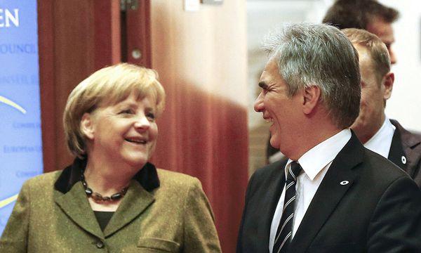 Faymann; Merkel; Samaras /