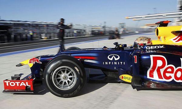 Sebastian Vettel hat gute Karten / Bild: REUTERS