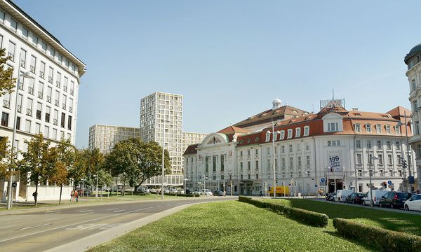 Der Heumarktturm soll höher werden als für die Unesco akzeptabel / Bild: Nightnurse