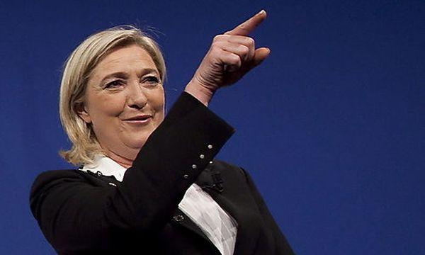 Marine Le Pen / Bild: (c) EPA (Ian Langsdon)