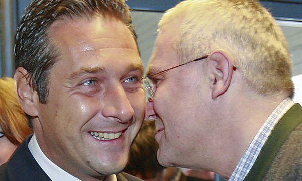 Heinz-Christian Strache, Martin Graf  / Bild: (c) AP (Gert Eggenberger)