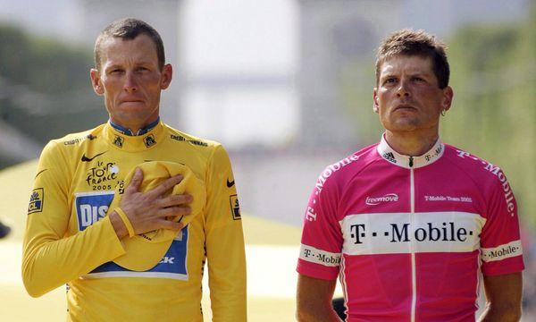 Lance Armstrong und Jan Ullrich / Bild: (c) EPA (GERO BRELOER)
