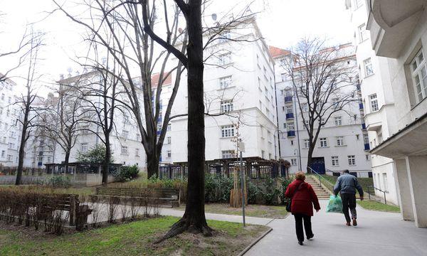 Ein Hort der Reichen? Wohl kaum. Der erste Wiener Gemeindebau, der Metzleinstaler Hof in Margareten. / Bild: (c) Clemens Fabry