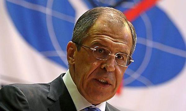 Russlands Außenminister Sergej Lawrow / Bild: (c) EPA (Sergei Ilnitsky)