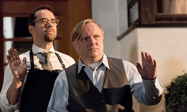Jan Josef Liefers (als Professor Boerne) und Axel Prahl (Kommissar Thiel). / Bild: ORF