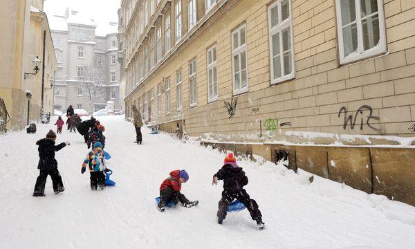 Schnee / Bild: (c) Die Presse (Clemens Fabry)