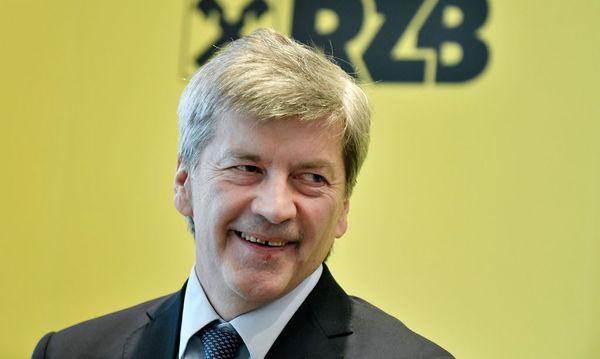 Neo-Chef Johann Strobl sieht die fusionierte RZB/RBI auf Kurs. / Bild: (c) APA/HANS KLAUS TECHT