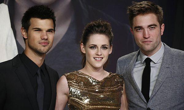 Die Stars aus ''Tilight'' (v.r.n.l.): Robert Pattinson, Kristen Stewart und Taylor Lautner / Bild: (c) Reuters (THOMAS PETER)