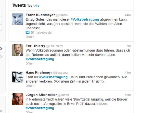 Screesnhot Twitter / Bild: Screenshot Twitter