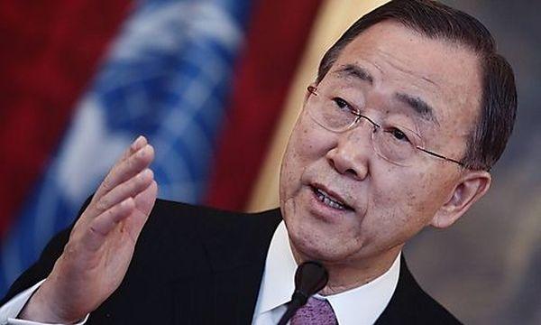 UN-General Ban / Bild: (c) REUTERS (Heinz-peter Bader)