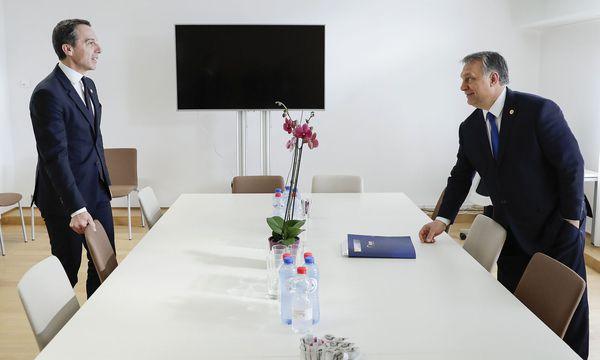 Kern und Orban  / Bild: (c) APA/BKA/ANDY WENZEL