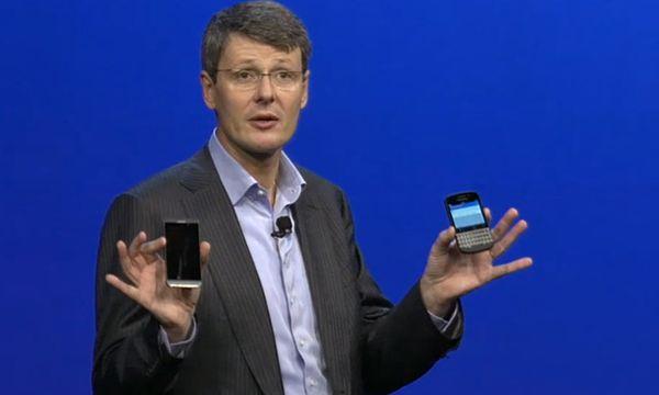Blackberry stellt neue Smartphones Z10 und Q10 vor / Bild: (c) Blackberry (Screenshot DiePresse.com)