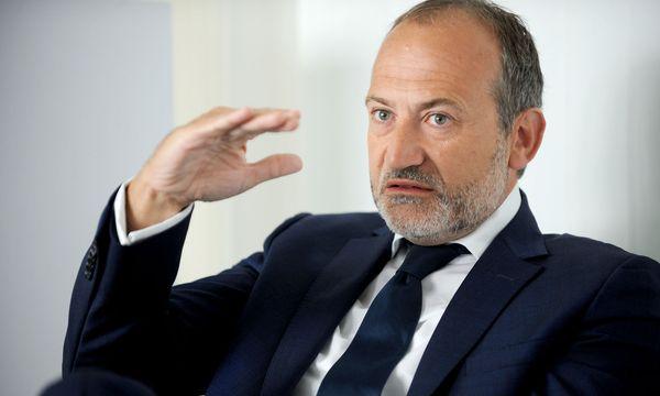 Für Telekom-Boss Plater liegt die Latte bei Investitionen sehr hoch. / Bild: (c) Clemens Fabry