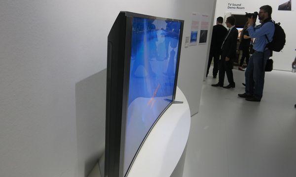 Sony biegt LEDFernseher /