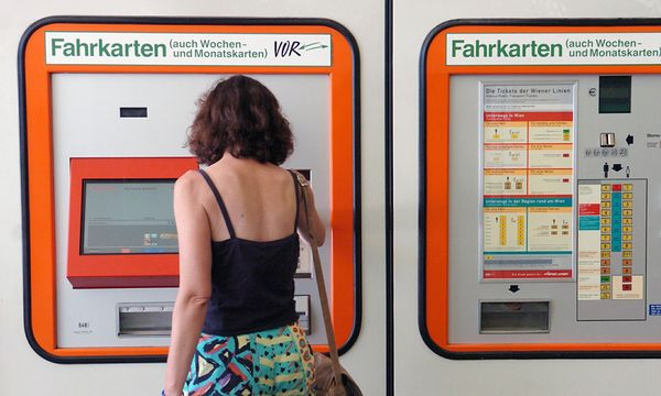 Wien Zahlreiche oeffiTickets werden / Bild: (c) Die Presse / Fabry
