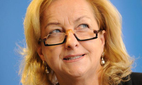 Bild: VP-Innenministerin Maria Fekter (c) Die Presse (Clemens Fabry)